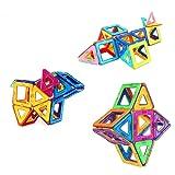 60 Pcs Magnetic Building Blocks, Kids Building Tile