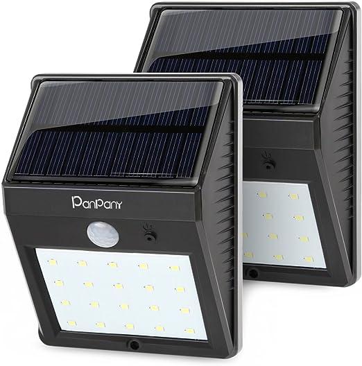 DEL Energie Solaire Deck Cap Post Light Bright White Clôture Lumières Jardin Extérieur