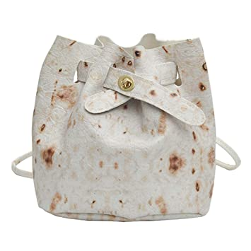 79126c2076e6 Amazon.com : Fashion Women Burritos Pattern Shoulder Bag Messenger ...