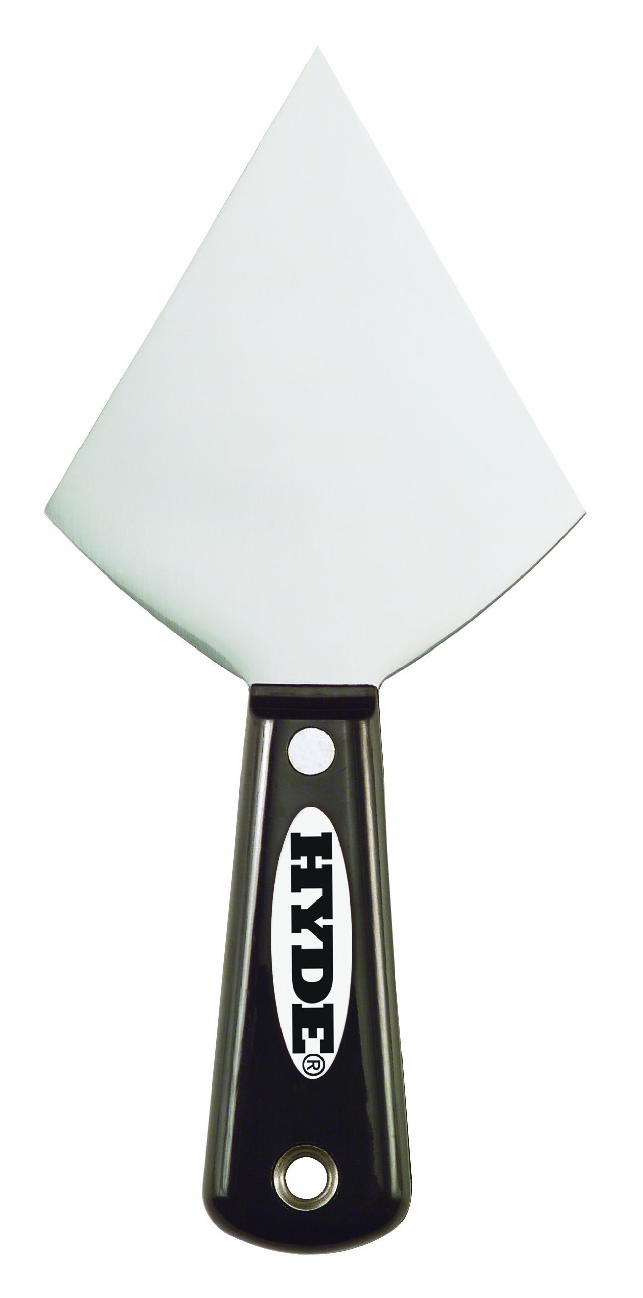 Hyde Tools 2700 3-1/2-Inch Flexible Drywall Pointing Knife, Black and Silver