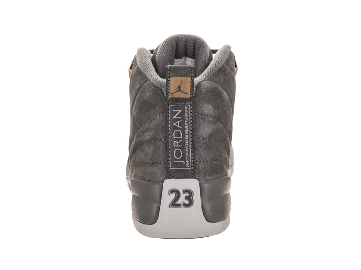 83600f088ff Amazon.com | Nike Air Jordan 12 Retro BG Big Kids Basketball shoes Dark  Grey, 5.5 | Basketball