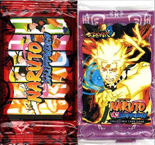 40 cards cartões cartas figurinha Naruto shippuden FRETE GRATIS