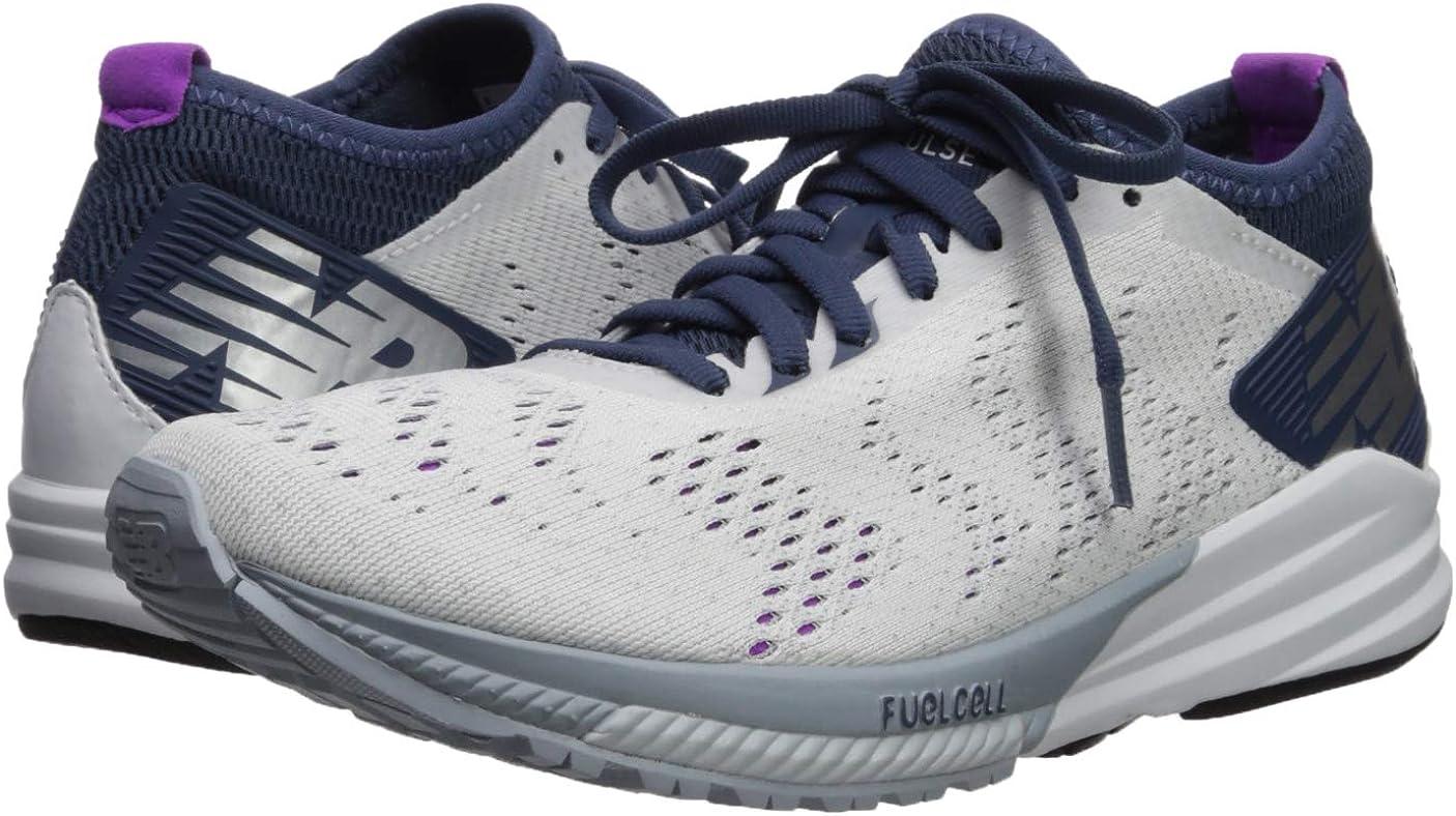 New Balance FuelCell Impulse, Zapatillas de Running para Mujer, Blanco (White/Voltage Violet/Light Cyclone WP), 39 EU: Amazon.es: Zapatos y complementos