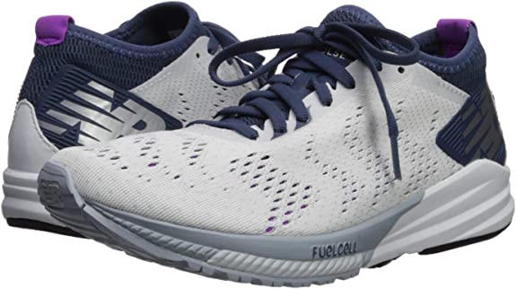 New Balance FuelCell Impulse, Zapatillas de Running para Mujer, Blanco (White/Voltage Violet/Light Cyclone WP), 39 EU: Amazon.es: Zapatos y complementos