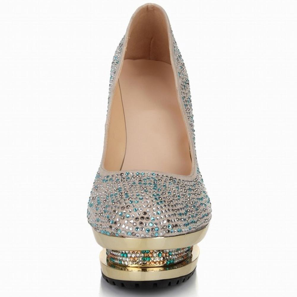 Cristal De Zapatos De Las . Mujeres Delgadas Tacones Sandalias Altos 38 De  Diamantes Hechos A Mano De Cuero De La Boda De La Etapa Party Nightclub  Noche ... 031020d02478