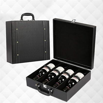Compra Caja de almacenamiento de vino de regalo Caja de vino ...