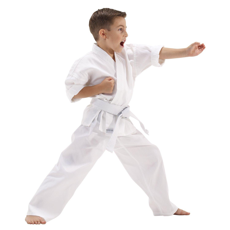 Macho 5oz Ultra Light Weight Karate Gi / Uniform - Size 0 by Macho Martial Arts