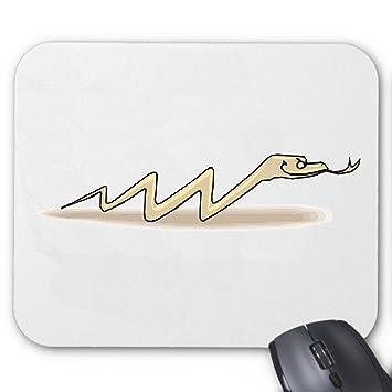 """Alfombrilla de ratón (ratón) """"serpiente Zig Zag de dibujo de schreck diversión"""
