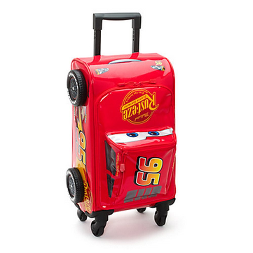 e52a4c429e96 Official Disney Cars 3 Lightning McQueen Rolling Luggage Case Trolley