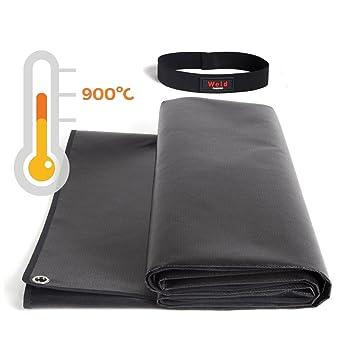 Manta de protección para soldadura 900ºC (150x100cm): Amazon.es: Bricolaje y herramientas