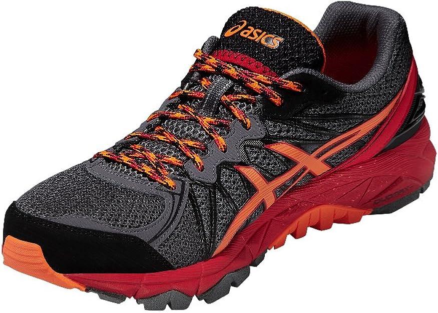 Asics - Zapatillas para Correr en montaña de Material Sintético para Hombre Gris Gris, Color Gris, Talla 39 EU: Asics: Amazon.es: Zapatos y complementos