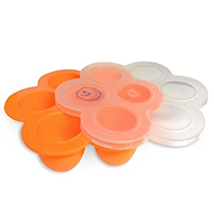 Cake And Egg Bite Silicone Mold for Pressure Cooker, Freezer And Oven