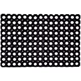 SafetyCare Interlocking Rubber Drainage Floor Mat - Anti-Fatigue - 24 x 16 inches