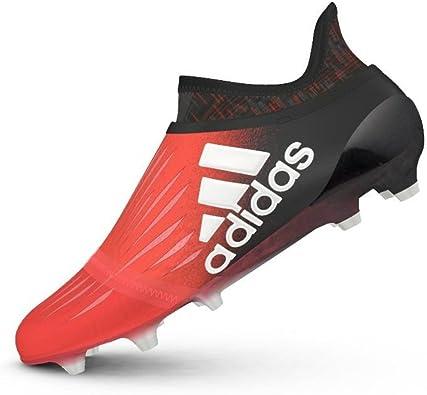 chaussures foot adidas homme rouge et noir