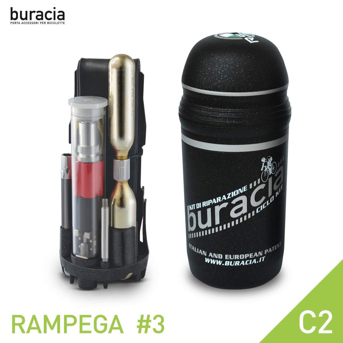 Kit antiforatura Riparazioni Biciclette buracia Made in Italy. MTB /& E-Bike Serie RAMPEGA Modello #3