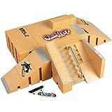 Togather® Mini Finger Skateboard Ramp Park Kit Finger Board Site Skate sport pièces 8PCS et 2PCS doigt conseils du pont