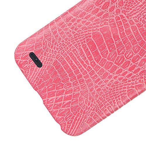 Funda LG X Power 2, SunFay Funda Posterior Protector de PC Carcasa Back Cover de Parachoques Piel PU Protectora de Teléfono Para LG X Power 2 - Blanco Rosa