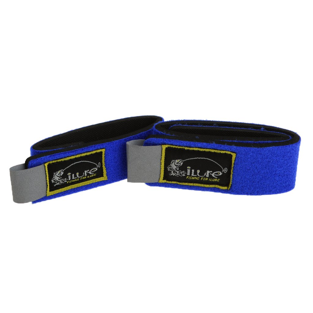 ILURE Fishing Accessory Rod Bands//Straps Lead Coarse Pole Tackle Pack of 2