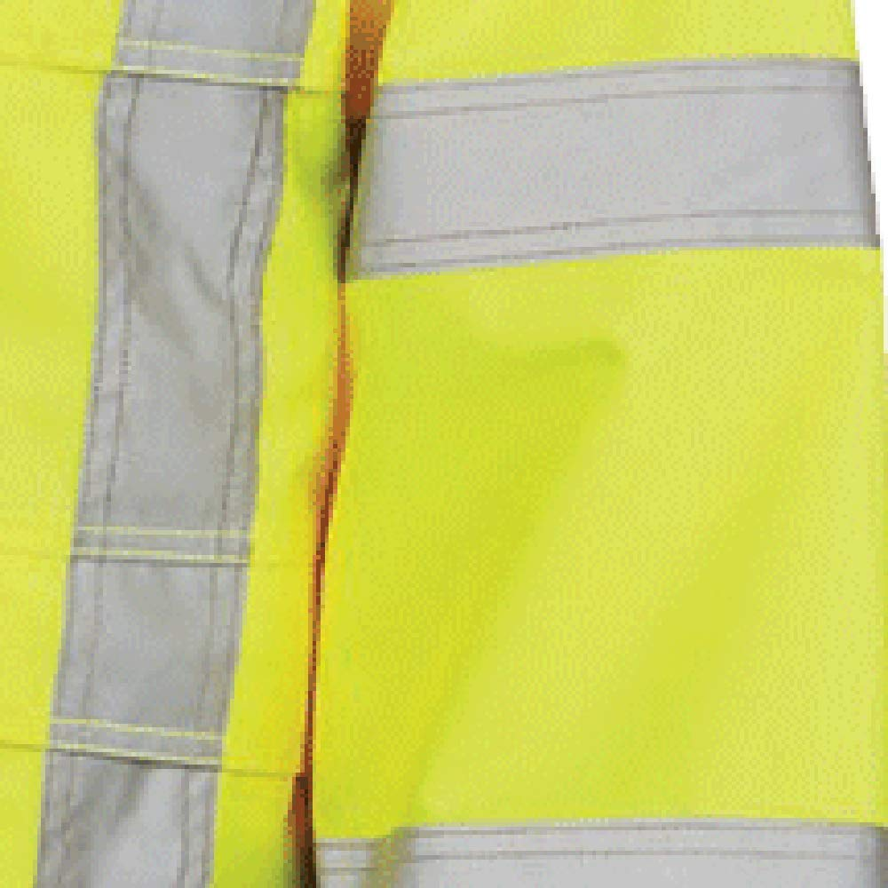Hi Vis Yellow//Green Pioneer Ripstop High Visibility Rain Gear Safety Jacket Reflective Waterproof Orange ANSI Class 3 Work Coat for Men