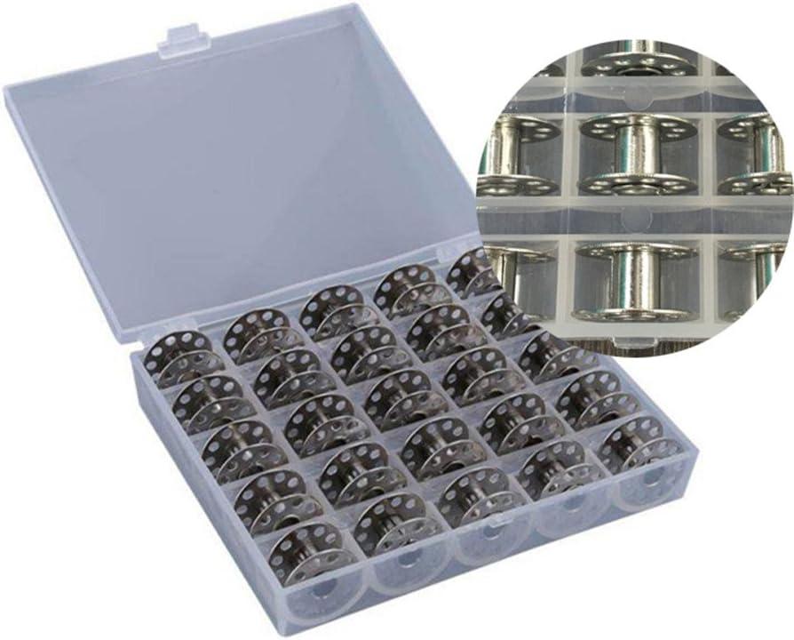 Chen Rui TM Kunststoff leer Spulen N/ähmaschinenspulen Spulenbox N/ähmaschinezubeh/ör