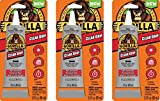 Gorilla Clear Grip Contact Adhesive, Waterproof, 3 ounce, Clear, (Pack of 3)