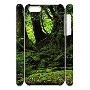MEIMEIiphone 4/4s Case 3D, Green Forest Case for iphone 4/4s white lmiphone 4/4s172240MEIMEI