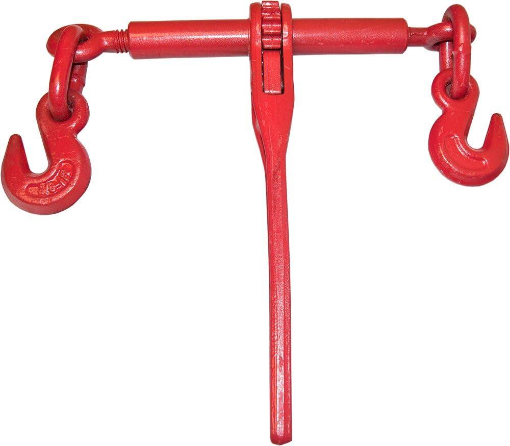 2 Ratchet Chain Load Binder 3//8-1//2