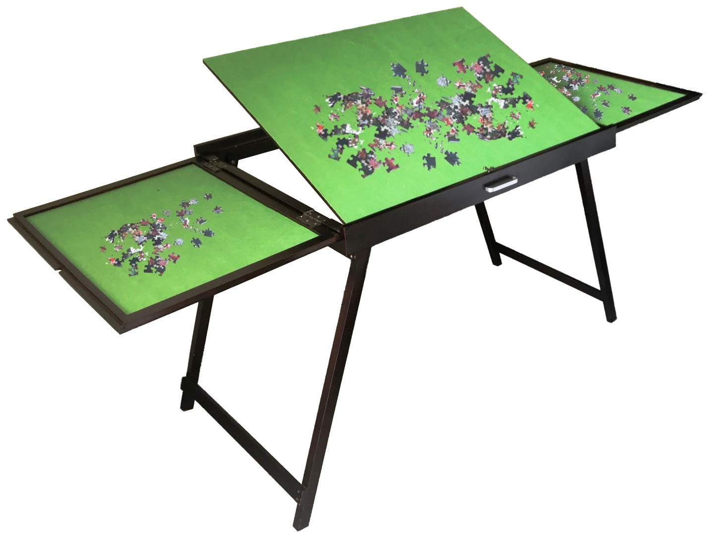 2019 New versionjigsaw Puzzle Table Storage Folding Tilting Table 1500 pcs mat PTTFT by byqs us