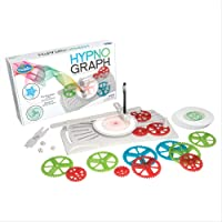 ThinkFun HypnoGraph Drawing Machine and STEM Toy for Boys and Girls Age 8 and Up - Creates Mesmerizing Mechanical Art