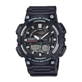 casio digital analog watch manual