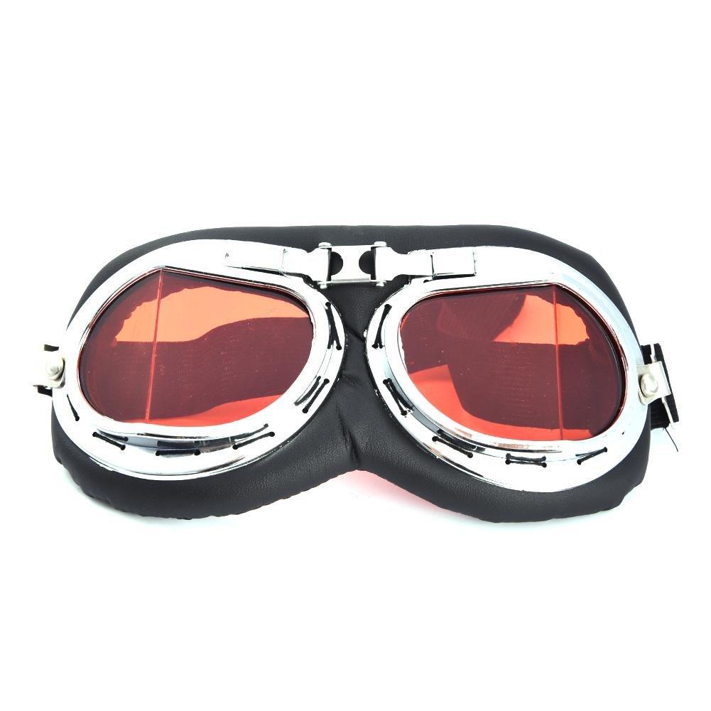 Lembeauty occhialini da Moto Harley Davidson Motor Gear Occhiali protettivi Antivento Casco Occhiali Occhiali