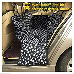 NEW Pet Car Seat Cover Dog Cat Portable Rear Back Mat Protector Safety Cushion