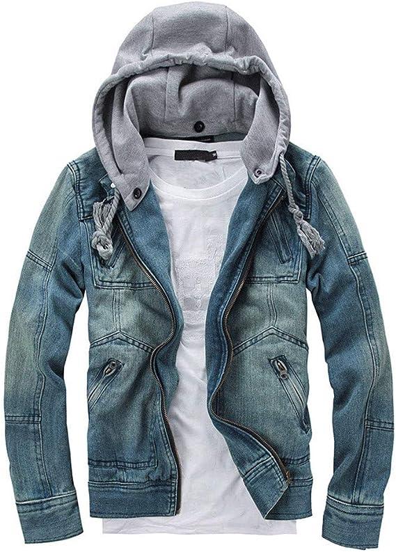 Veste en Jean Homme Skinny,Overdose Hiver Jeans Longue