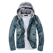 Simayixx Jackets for Men with Hood