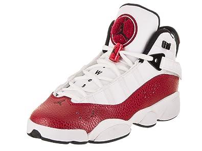 : Jordan Nike Kids 6 anillos BG Zapatillas de