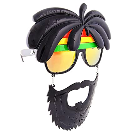 be6fffc73e9f Amazon.com  Sunstaches Rasta Sunglasses