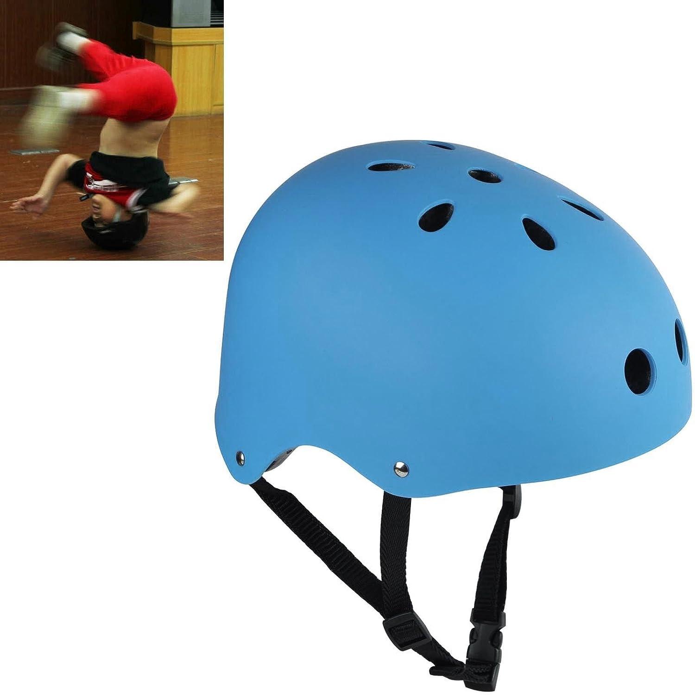 Bike Cycling Scooter Ski Skate Skateboard Protector Helmet Frosted Blue L