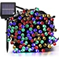 Solar String Lights 72ft 200 Led 8 Mode Solar Christmas Lights Waterproof Starry Fairy Light For Indoor Outdoor Commercial Decor Ambiance Garden Backyard Wedding Holiday Party Multi Color