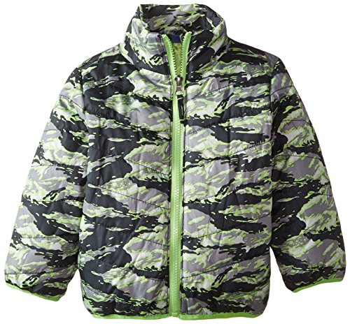 Coat Black Boys' Quilted Bear with Jacket Systems Inner Rugged 7TFxZqW