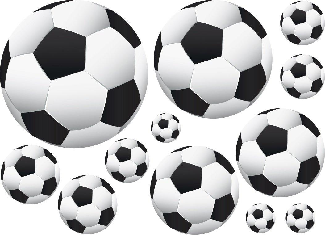 36 soccer ball wall decor art stickers decals vinyls amazon com
