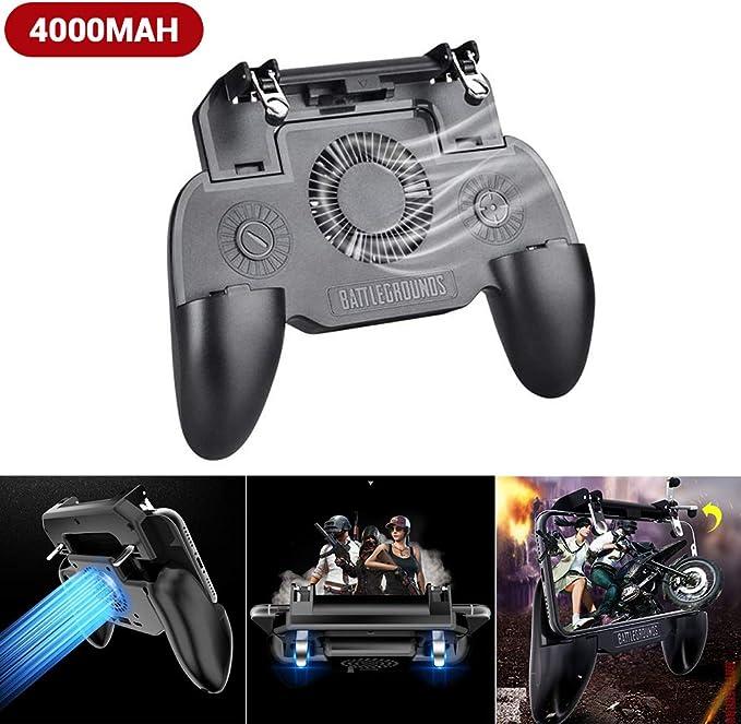 Egosy - Mando para Juegos de móvil, Mando de Videojuegos para Smartphones Android, teléfonos Inteligentes, Smart TV y Samsung Gear SR, Color Negro: Amazon.es: Hogar