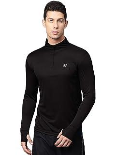 778d7b2ba Rider Men s Lycra Full Sleeve Sports T-Shirt (Black Medium)  Amazon ...