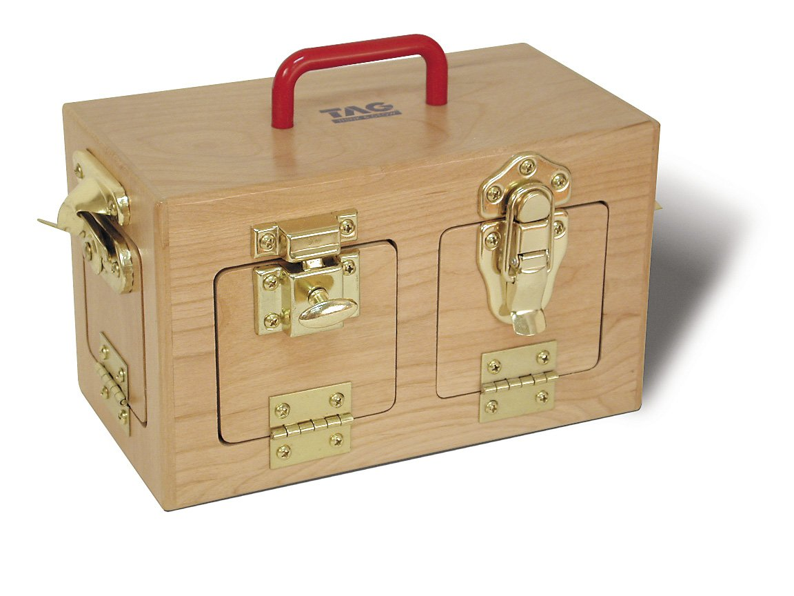 Memory Loss & Alzheimer's Dementia Activity/ SMALL SIZE Lock-Station Center for Memory & Mental Stimulation