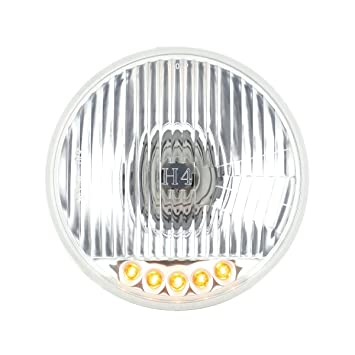 Snake-Eye 7 Inch Halogen Lens Assembly with H4 bulb Pair