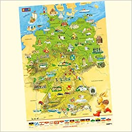 deutschlandkarte zum markieren Felix Deutschlandkarte: Amazon.de: Droop, Constanza: Bücher