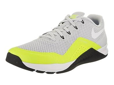 6bfe79e7f089 NIKE Men s Metcon Repper DSX Pure Platinum White Volt Black Training Shoe  11 Men US  Buy Online at Low Prices in India - Amazon.in