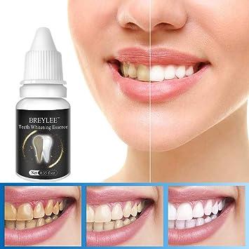Amazon Com Teeth Whitening Essence Treatment For Plaque Net Black
