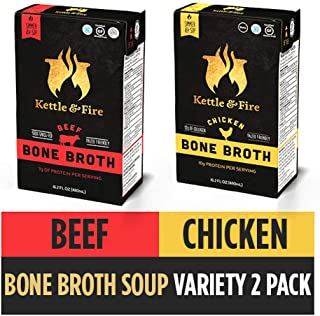 product image for Beef and Chicken Bone Broth, 2 Pack
