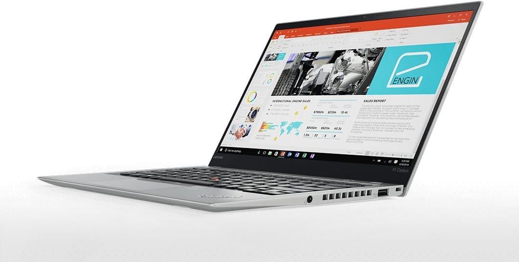 "2018 Lenovo ThinkPad X1 Carbon (5th Gen) - Windows 10 Pro - Modern Silver - Intel Core i7-7600U, 512GB NVMe-PCIe SSD, 8GB RAM, 14"" FHD IPS (1920x1080) Display, Fingerprint Reader"