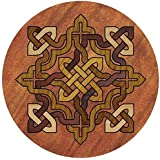 Thirstystone Stoneware Celtic Knot Coaster, Multicolor